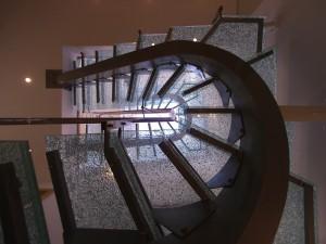 Iluminarea naturală a scării