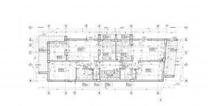 Planul etajului curent