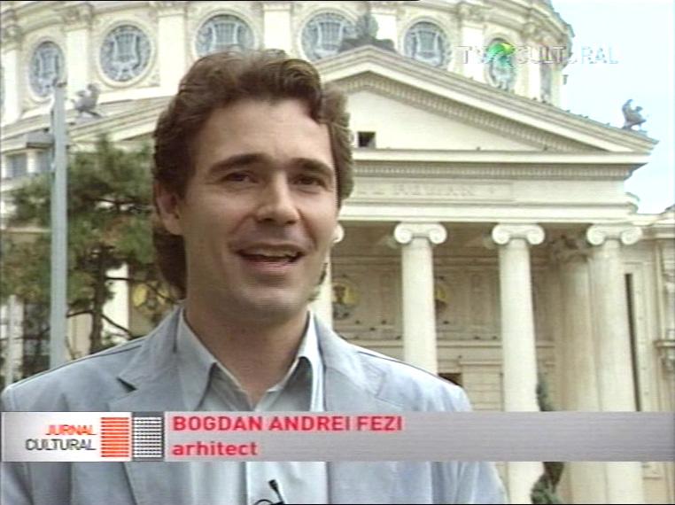 Bogdan Fezi - TVR Cultural-Jurnalul Cultural Autograf la debut