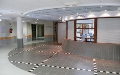 Centru spitalicesc la Pontarlier - primiri